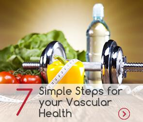 7 Simple Steps for your Vascular Health